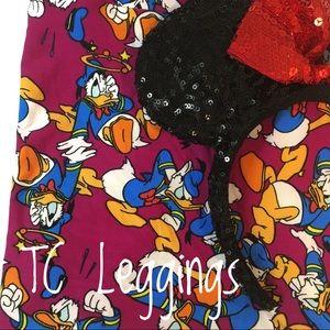 LuLaRoe Disney Donald Duck TC Leggings! 🎈🎈🎈